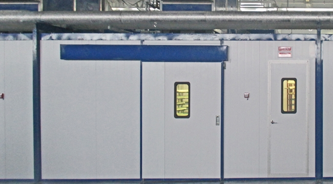 Чистые комнаты (камеры избыточного давления) производства Термопроцесс